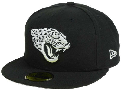 Jacksonville Jaguars New Era NFL Basic Pop Black 59FIFTY Cap