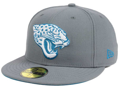 Jacksonville Jaguars New Era NFL Basic POP DG 59FIFTY Cap