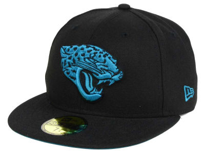 Jacksonville Jaguars New Era NFL Basic POP TC 59FIFTY Cap