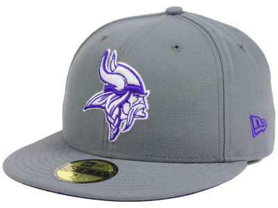 Minnesota Vikings New Era NFL Basic POP DG 59FIFTY Cap
