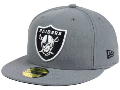 Oakland Raiders New Era NFL Basic POP DG 59FIFTY Cap