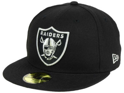 Oakland Raiders New Era NFL Basic POP TC 59FIFTY Cap