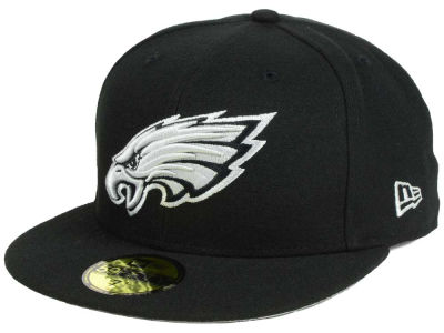 Philadelphia Eagles New Era NFL Basic Pop Black 59FIFTY Cap