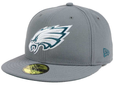 Philadelphia Eagles New Era NFL Basic POP DG 59FIFTY Cap