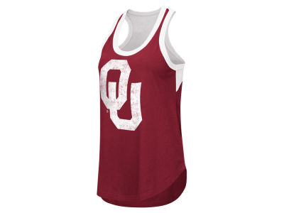 Oklahoma Sooners GIII NCAA Women's Power Alley Tank