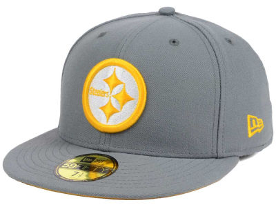 Pittsburgh Steelers New Era NFL Basic POP DG 59FIFTY Cap