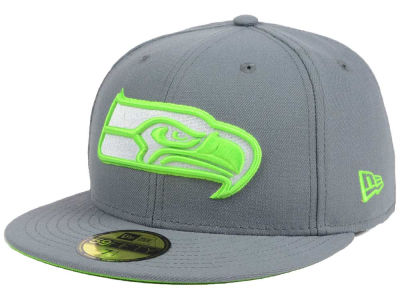 Seattle Seahawks New Era NFL Basic POP DG 59FIFTY Cap