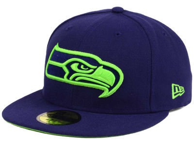 Seattle Seahawks New Era NFL Basic POP TC 59FIFTY Cap