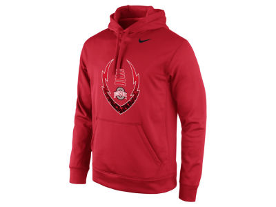 Ohio State Buckeyes Nike NCAA Men's Football Icon Hoodie