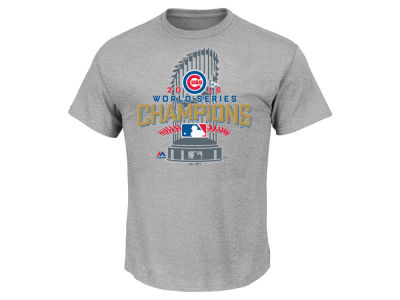 Chicago Cubs Majestic MLB Men's 2016 World Series Champ Locker Room T-Shirt