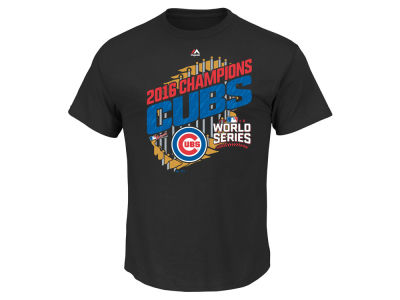 Chicago Cubs Majestic MLB Men's 2016 World Series Champ Parade T-Shirt
