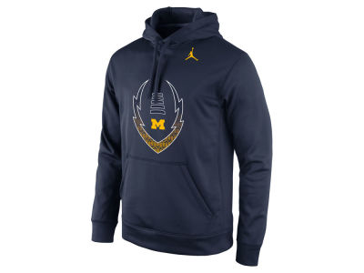 Michigan Wolverines Nike NCAA Men's Football Icon Hoodie