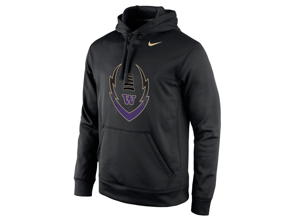 cheaper 88857 d7ece Washington Huskies Nike NCAA Men's Football Icon Hoodie