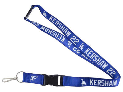 Los Angeles Dodgers Clayton Kershaw Player Lanyard