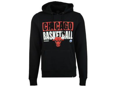 Chicago Bulls '47 NBA Men's Knockaround Headline Pullover Hoodie