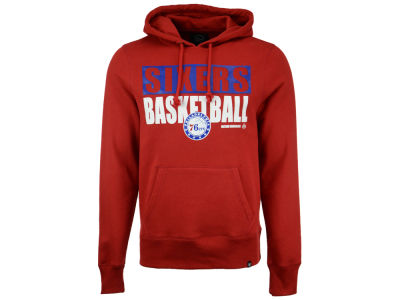 Philadelphia 76ers '47 NBA Men's Knockaround Headline Pullover Hoodie