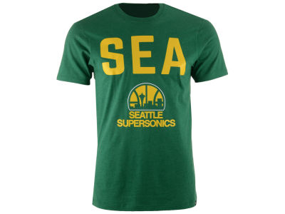 Seattle SuperSonics '47 NBA Men's Ticker Club T-Shirt