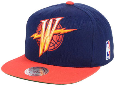 Golden State Warriors Mitchell & Ness NBA XL Hardwood Classic 2Tone Snapback Cap