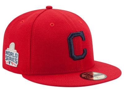 Cleveland Indians New Era MLB 2016 World Series Patch Authentic Collection 59FIFTY Cap