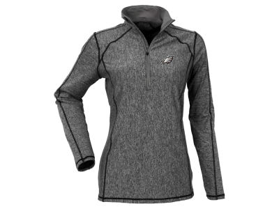 Philadelphia Eagles Antigua NFL Women's Tempo Quarter Zip Pullover