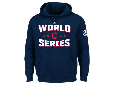 Cleveland Indians MLB Men's World Series Team Tude Patch Hoodie