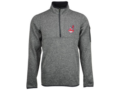 Cleveland Indians MLB Men's Fortune Pullover 1/4 Zip Pullover