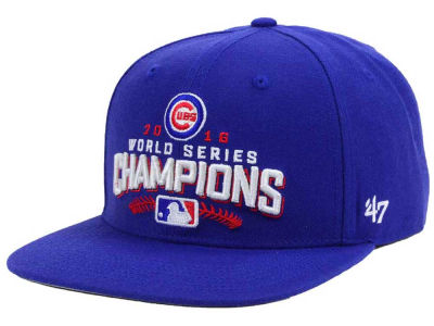 Chicago Cubs '47 MLB 2016 World Series Champs '47 CAPTAIN Cap