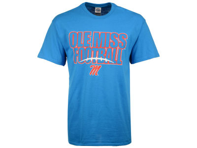 Ole Miss Rebels J America NCAA Men's Straight Stack Logo T-Shirt