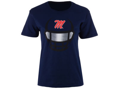Ole Miss Rebels J America NCAA Youth Helmet Shine T-Shirt
