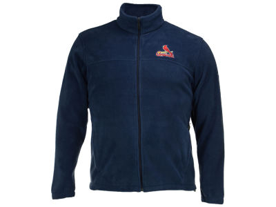 St. Louis Cardinals MLB Men's Flanker Full Zip Fleece
