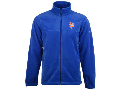 New York Mets MLB Men's Flanker Full Zip Fleece
