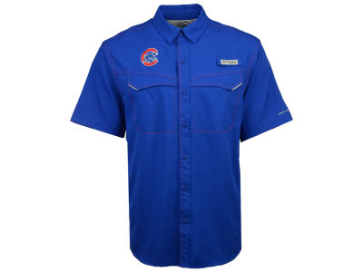 Chicago Cubs MLB Men's Low Drag Short Sleeve Shirt