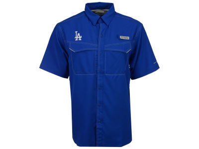 Los Angeles Dodgers MLB Men's Low Drag Short Sleeve Shirt