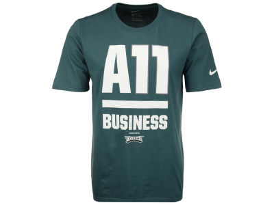Philadelphia Eagles Nike NFL Men's Wentz All Business T-Shirt