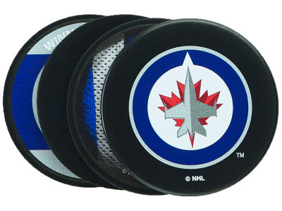 Winnipeg Jets Puck Coasters