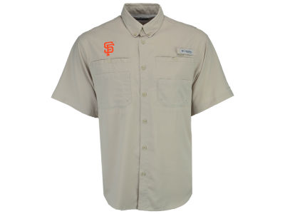 San Francisco Giants Columbia MLB Men's Tamiami Shirt