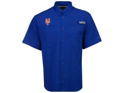 New York Mets Columbia MLB Men's Tamiami Shirt