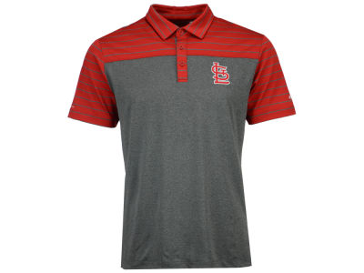St. Louis Cardinals Columbia MLB Men's Omni-Wick Groove Polo