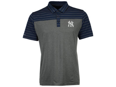 New York Yankees MLB Men's Omni-Wick Groove Polo