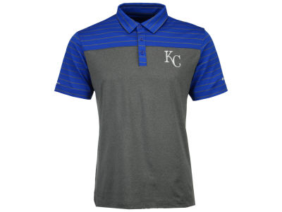 Kansas City Royals Columbia MLB Men's Omni-Wick Groove Polo