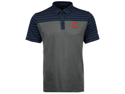 Cleveland Indians Columbia MLB Men's Omni-Wick Groove Polo