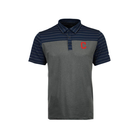Cleveland Indians MLB Men's Omni-Wick Groove Polo