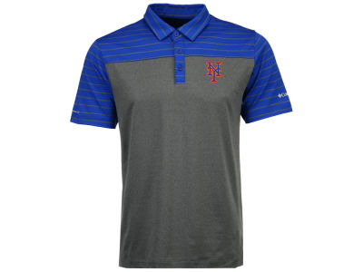 New York Mets Columbia MLB Men's Omni-Wick Groove Polo