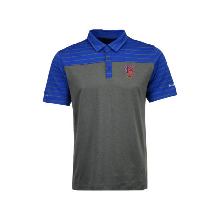 New York Mets MLB Men's Omni-Wick Groove Polo
