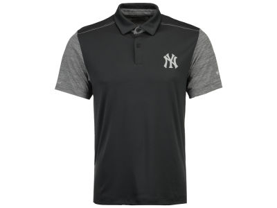 New York Yankees MLB Men's Omni-Wick Forged Polo