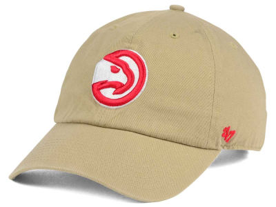 Atlanta Hawks '47 NBA Khaki '47 CLEAN UP Cap
