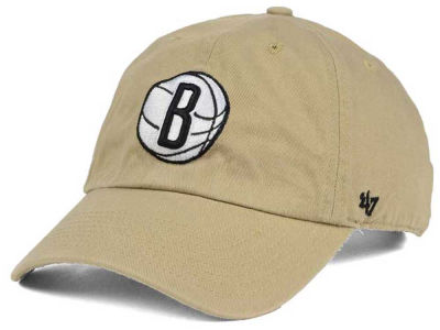 Brooklyn Nets '47 NBA Khaki '47 CLEAN UP Cap