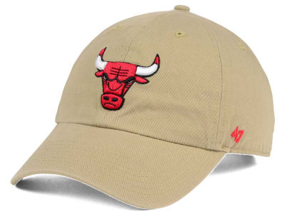 Chicago Bulls '47 NBA Khaki '47 CLEAN UP Cap