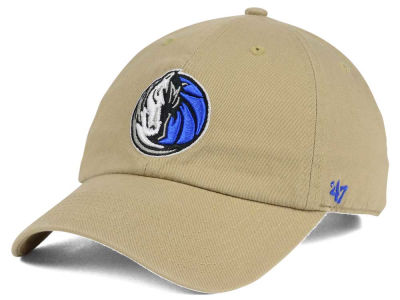Dallas Mavericks '47 NBA Khaki '47 CLEAN UP Cap