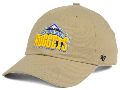 Denver Nuggets '47 NBA Khaki '47 CLEAN UP Cap